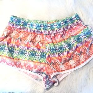 OP Multicolored Running Shorts